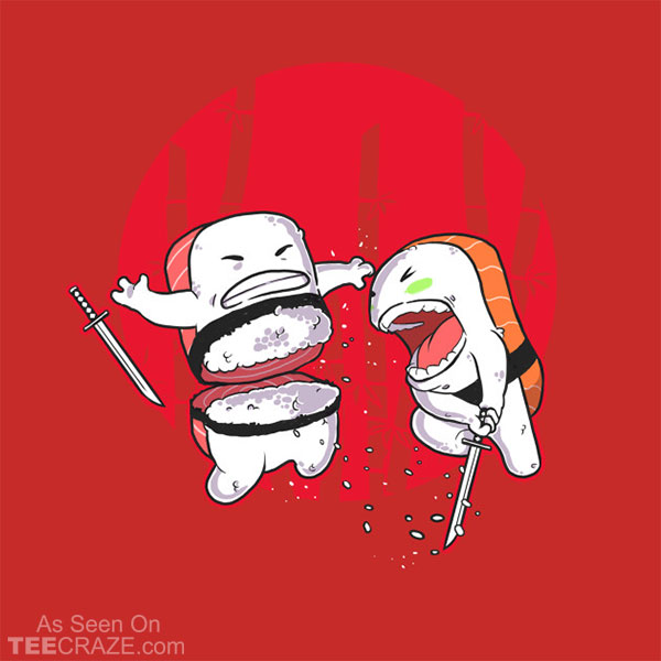 Sushi Slash T-Shirt