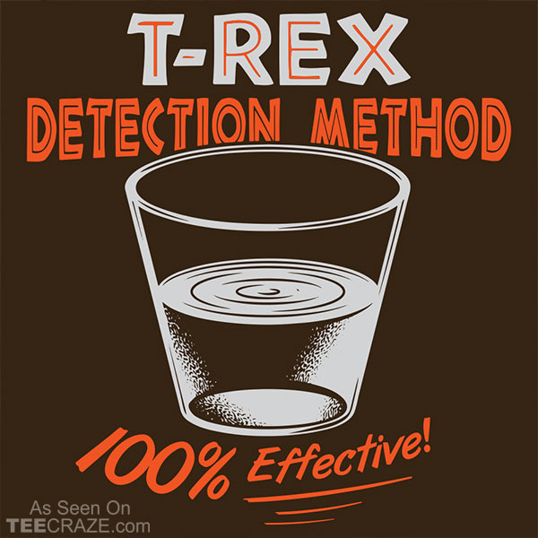 T-Rex Detection Method T-Shirt