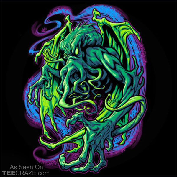Terror Of Cthulhu T-Shirt