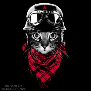 The Adventurer Cat T-Shirt