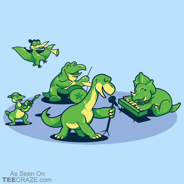 The Band Before Time T-Shirt