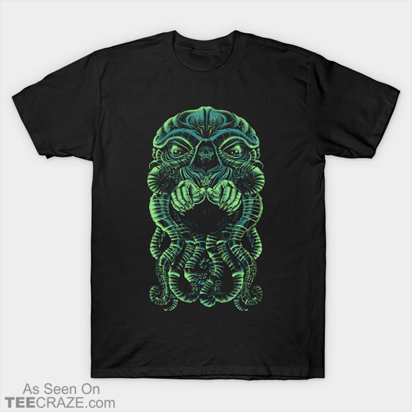 The Cultist Of Cthulhu T-Shirt