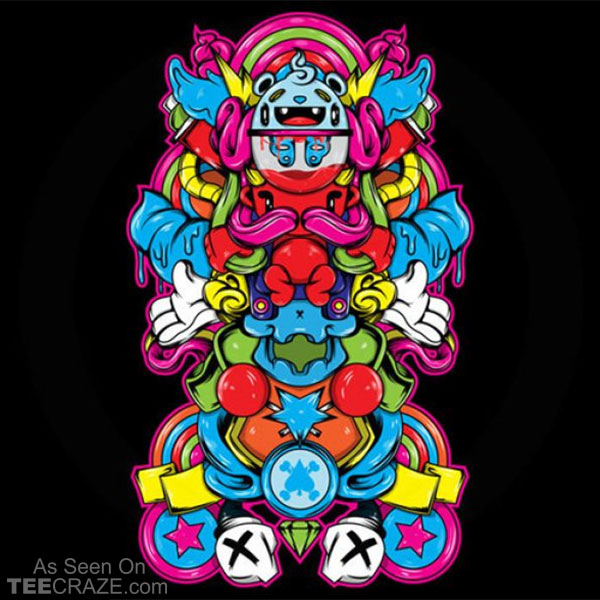 The Devil And His Candy Machine T-Shirt