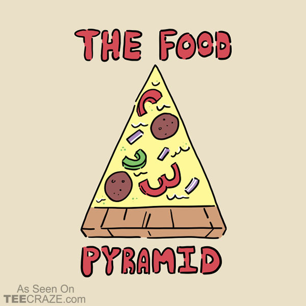 The Food Pyramid T-Shirt