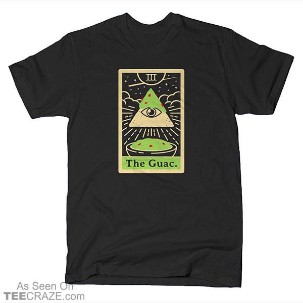 The Guac Tarot T-Shirt