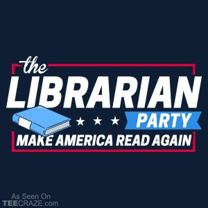 The Librarian Party T-Shirt