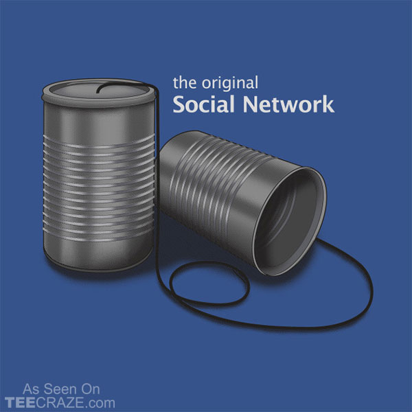 The Original Social Network T-Shirt