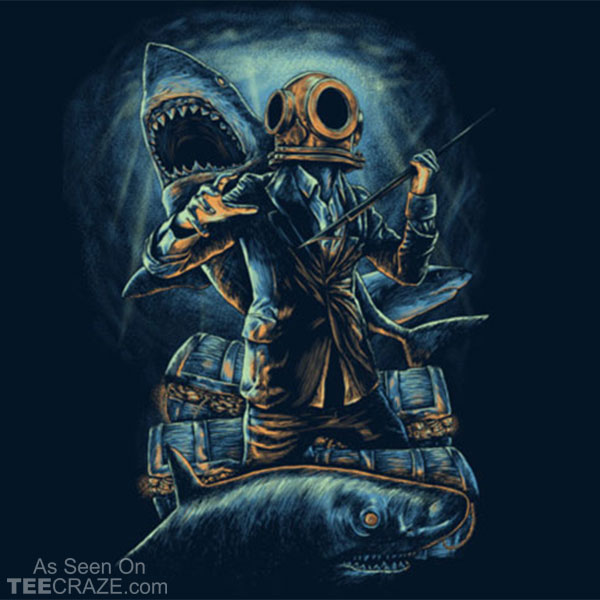 Underwater Business T-Shirt