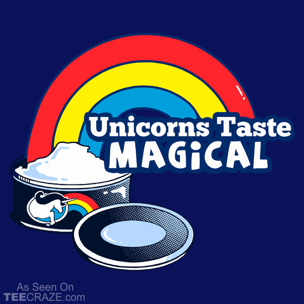Unicorns Taste Magical T-Shirt