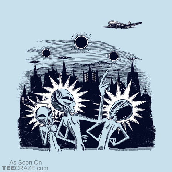 Unidentified Flying Object T-Shirt