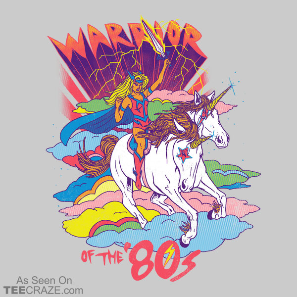 Warrior Of The 80s T-Shirt