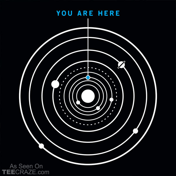 You Are Here T-Shirt