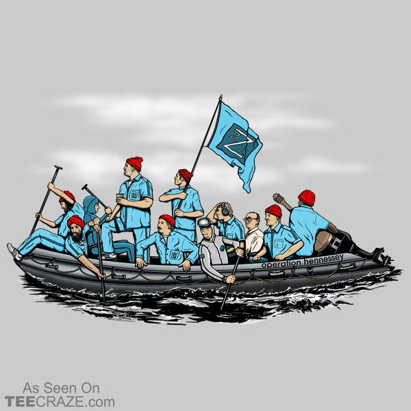 Zissou Crossing the Delaware T-Shirt