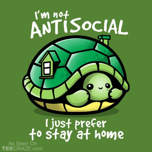 Antisocial Turtle T-Shirt