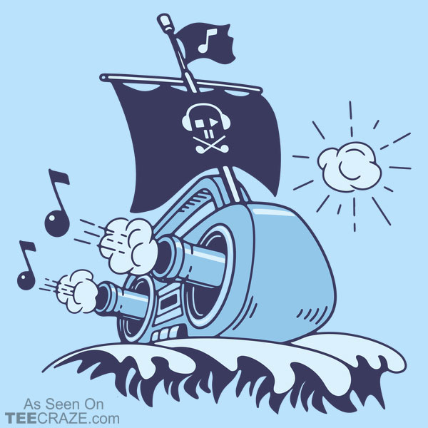 Musical Ship T-Shirt