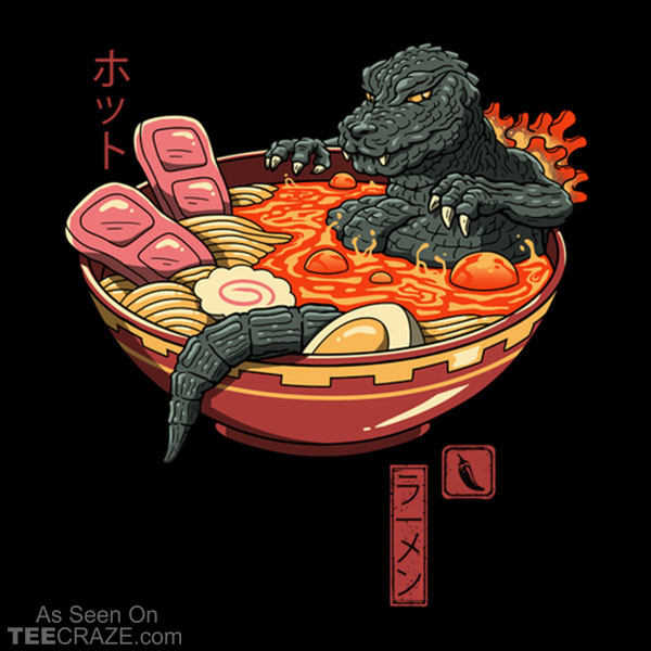 Spicy Lava Ramen King T-Shirt