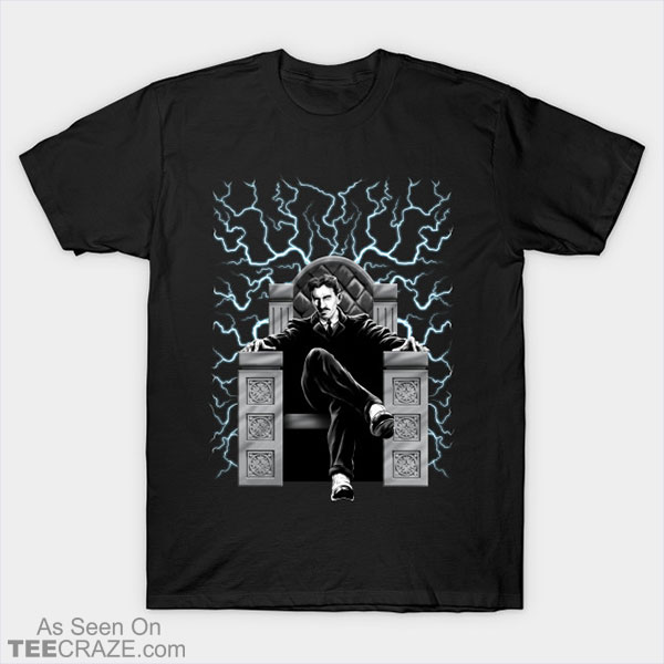 Tesla Electric Chair T-Shirt