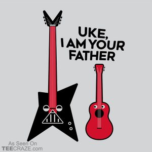 Uke, I Am Your Father T-Shirt