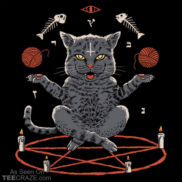 Devious Cat T-Shirt