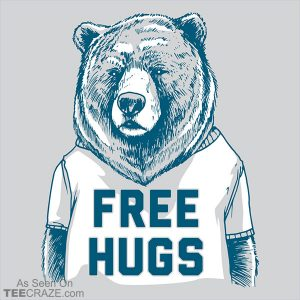 Free Hugs Bear T-Shirt