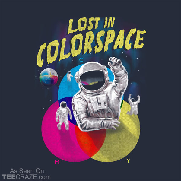 Lost In Colorspace T-Shirt