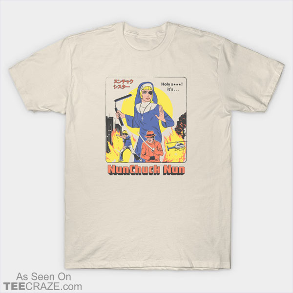 Nunchick Nun T-Shirt