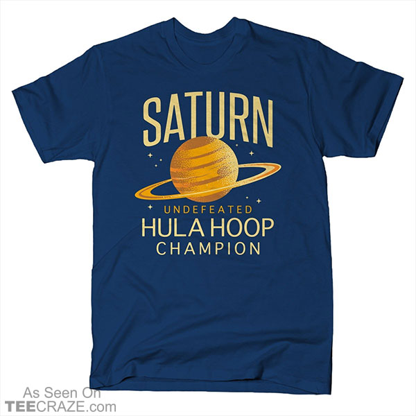 Undefeated Hula Hoop Champion T-Shirt