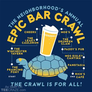 Bar Crawl T-Shirt