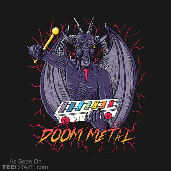 Doom Metal T-Shirt