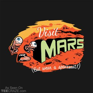 Get To Mars T-Shirt