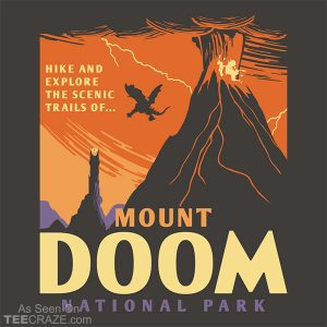 Mount Doom National Park T-Shirt