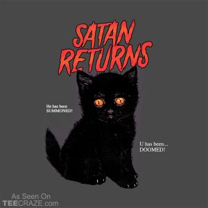 Satan Returns T-Shirt
