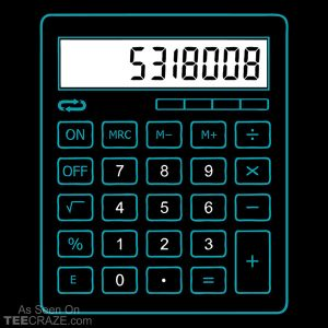 5318008 Calculator T-Shirt