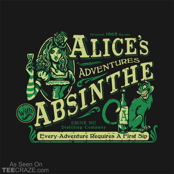Alice's Adventures With Absinthe T-Shirt