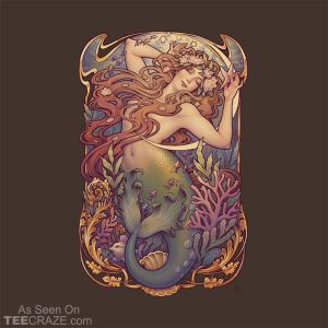 Andersen Little Mermaid Nouveau T-Shirt