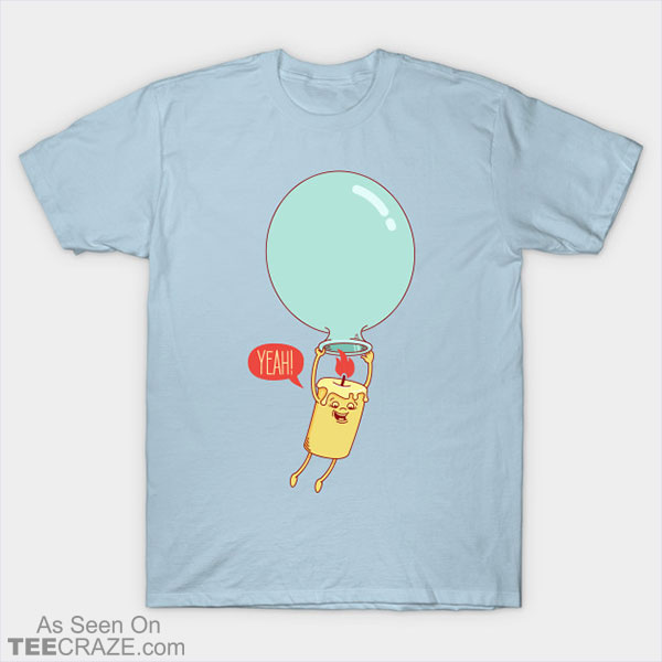 Flying Candle T-Shirt