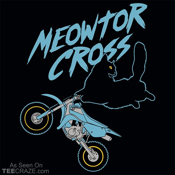 Meowtor Cross T-Shirt
