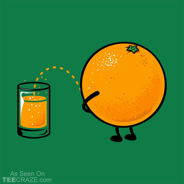 Orange Juice T-Shirt