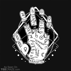 Palmistry The Future Is In Your Hands T-Shirt