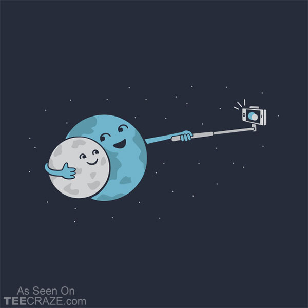 Selfie Planet T-Shirt