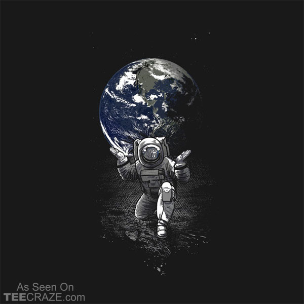 Atlas Spaceman T-Shirt