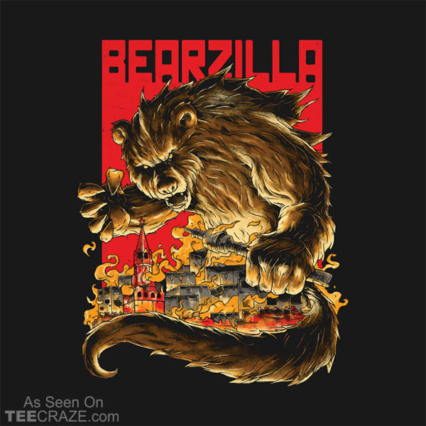 Bearzilla T-Shirt