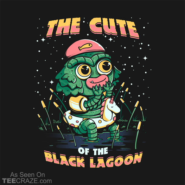 Cute Of The Black Lagoon T-Shirt