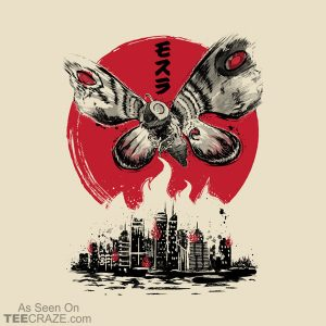 Giant Moth Attack T-Shirt