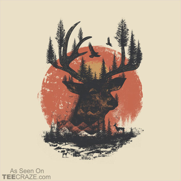 Into The Deer T-Shirt