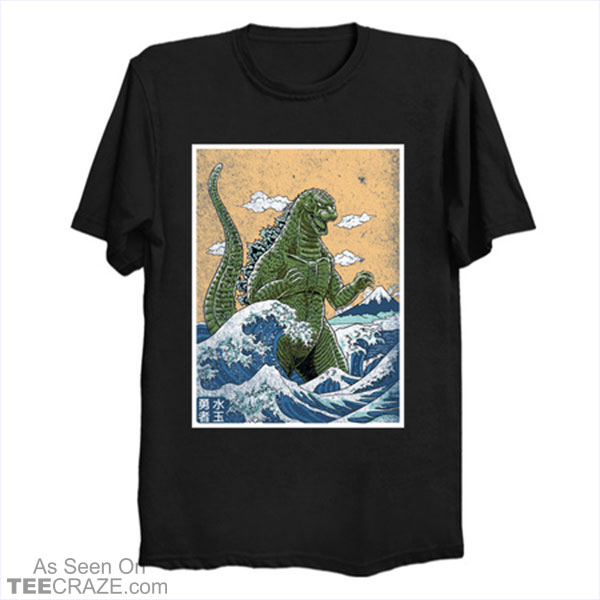 King Of Monsters From Kanagawa T-Shirt