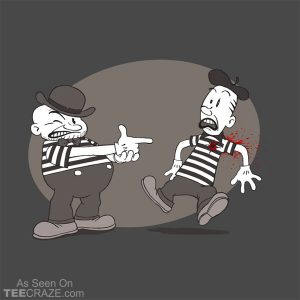 Mime Crime T-Shirt
