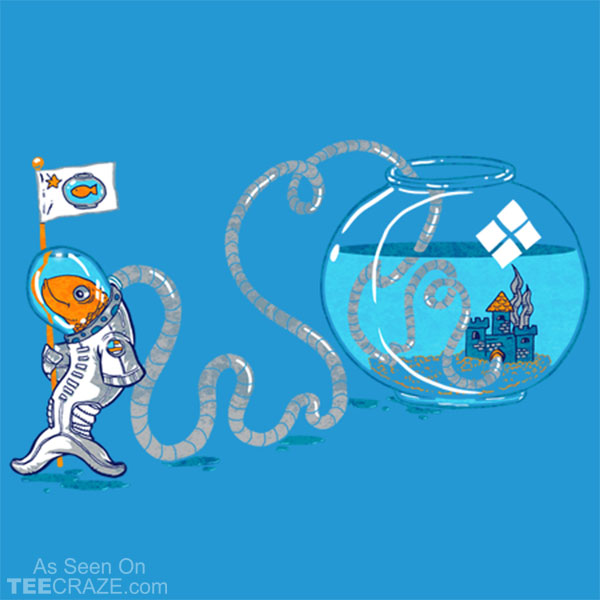 The Fishtronaut T-Shirt