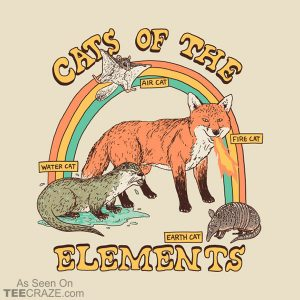 Cats Of The Elements T-Shirt