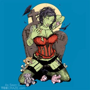 Great-Granddaughter Of Frankenstein T-Shirt